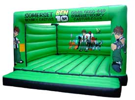 Ben 10 Bouncy Castle