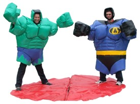 Super Heroes Fat Suits